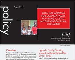 2015 Gap Analysis for Uganda