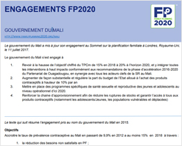 FP 2020 Commitment