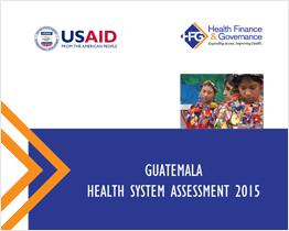 Guatemala Health System Assesment 2015