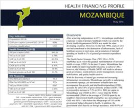 Health Financing Profile: Mozambique