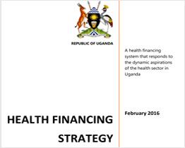 Health Financing Strategy