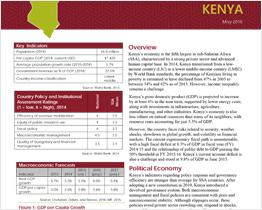 Macro-Fiscal Profile Kenya