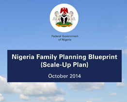 Nigeria Family Planning Blueprint (Scale-up Plan)