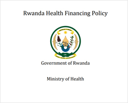 Rwanda Health Financing Policy