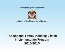The National Family Planning Costed Implementation